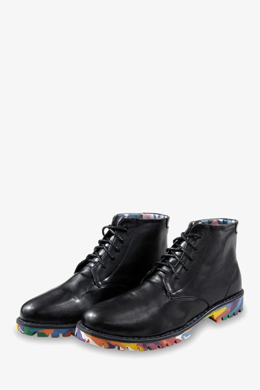 Oxford Boots In Black