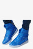 Retro Boots In Blue