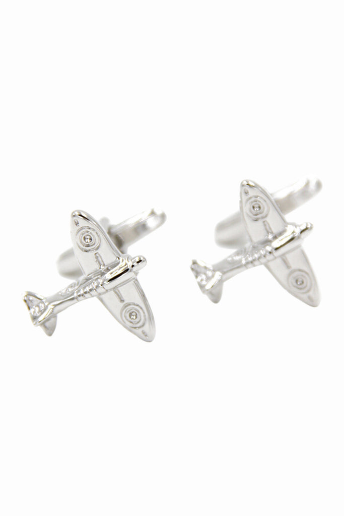Airplane Men's  Dress Shirt Cufflinks