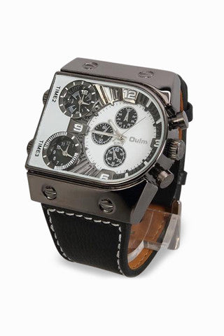 Chronograph Hip Hop Watch