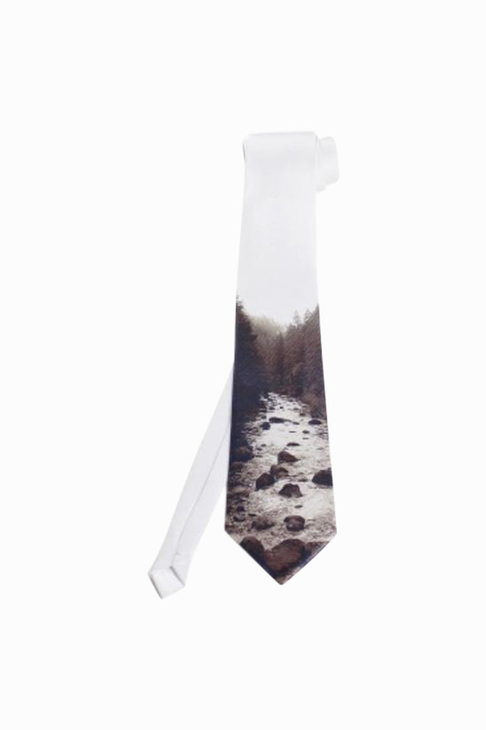 River in the Woods Tie