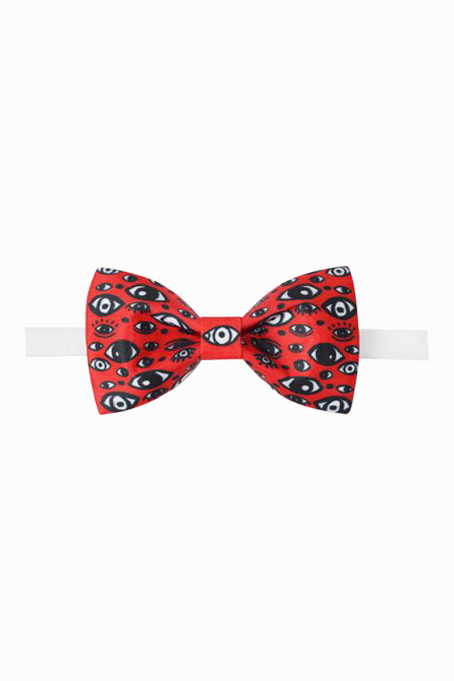Seeing Eye Bow Tie in Red