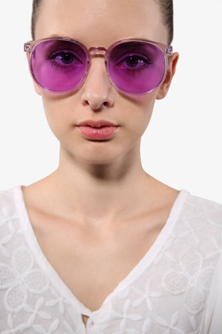Stylish Clear Lavender Sunglasses