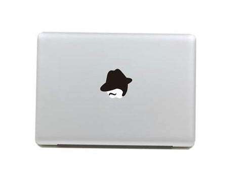 Macbook Al Capone Decal Sticker. Art Decals By Moooh!!