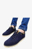 Vintage Suede Sneakers In Navy