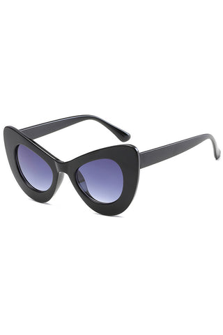 Cat Eye Big Frame Sunglasses
