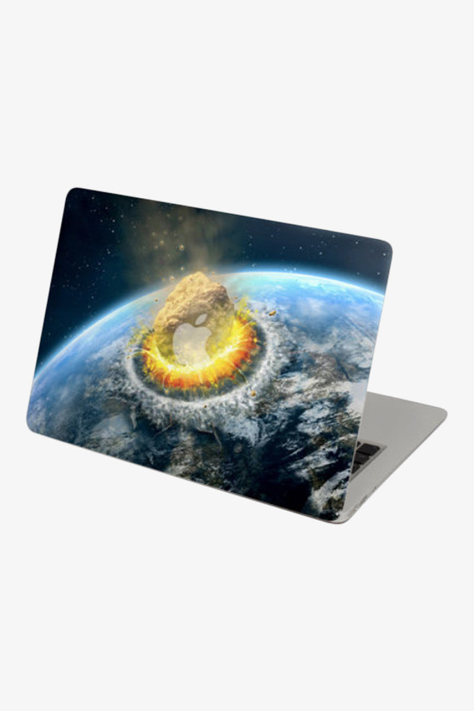 Macbook Meteorite Crashed Skin Decal Sticker. Art Decals By Moooh!!
