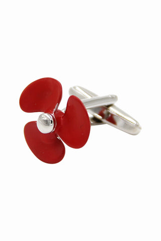 Fan Shaped Men Wedding Cufflinks