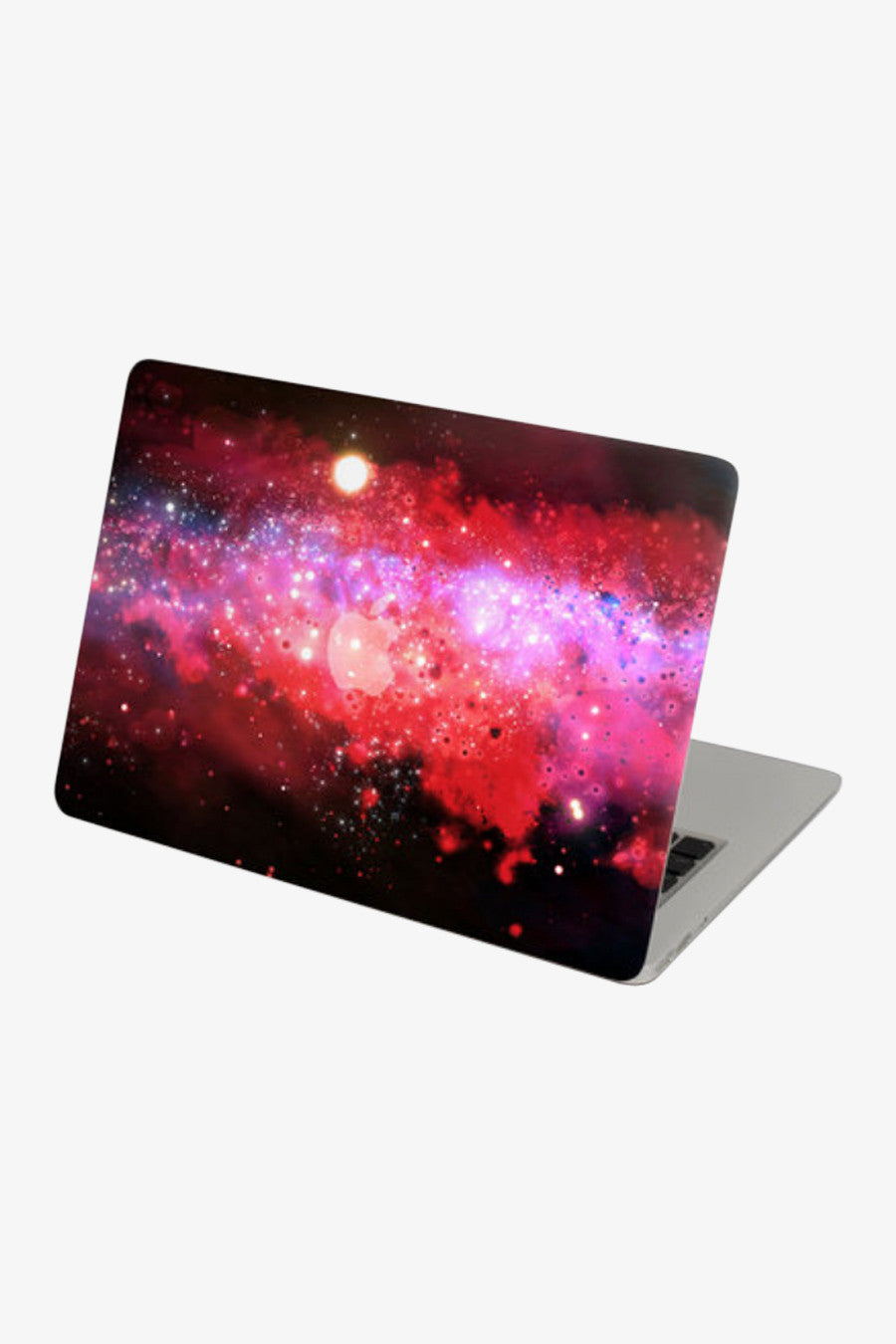 Macbook Galaxy Red Stars Decal Sticker. Art Decals By Moooh!!