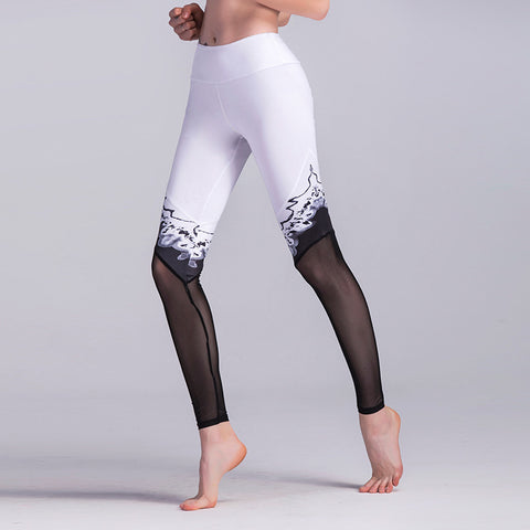 Mesh Stitching Leggings
