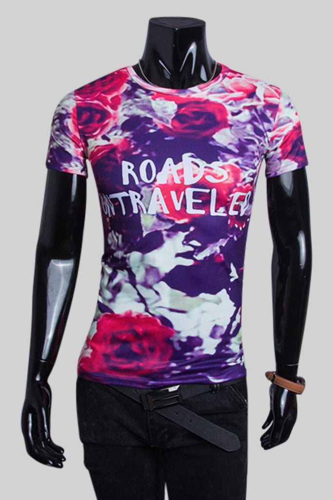 Rose Graffiti T-shirt