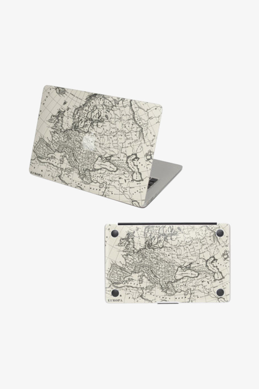 Macbook Vintage Europe Map Decal Sticker. Art Decals By Moooh!!