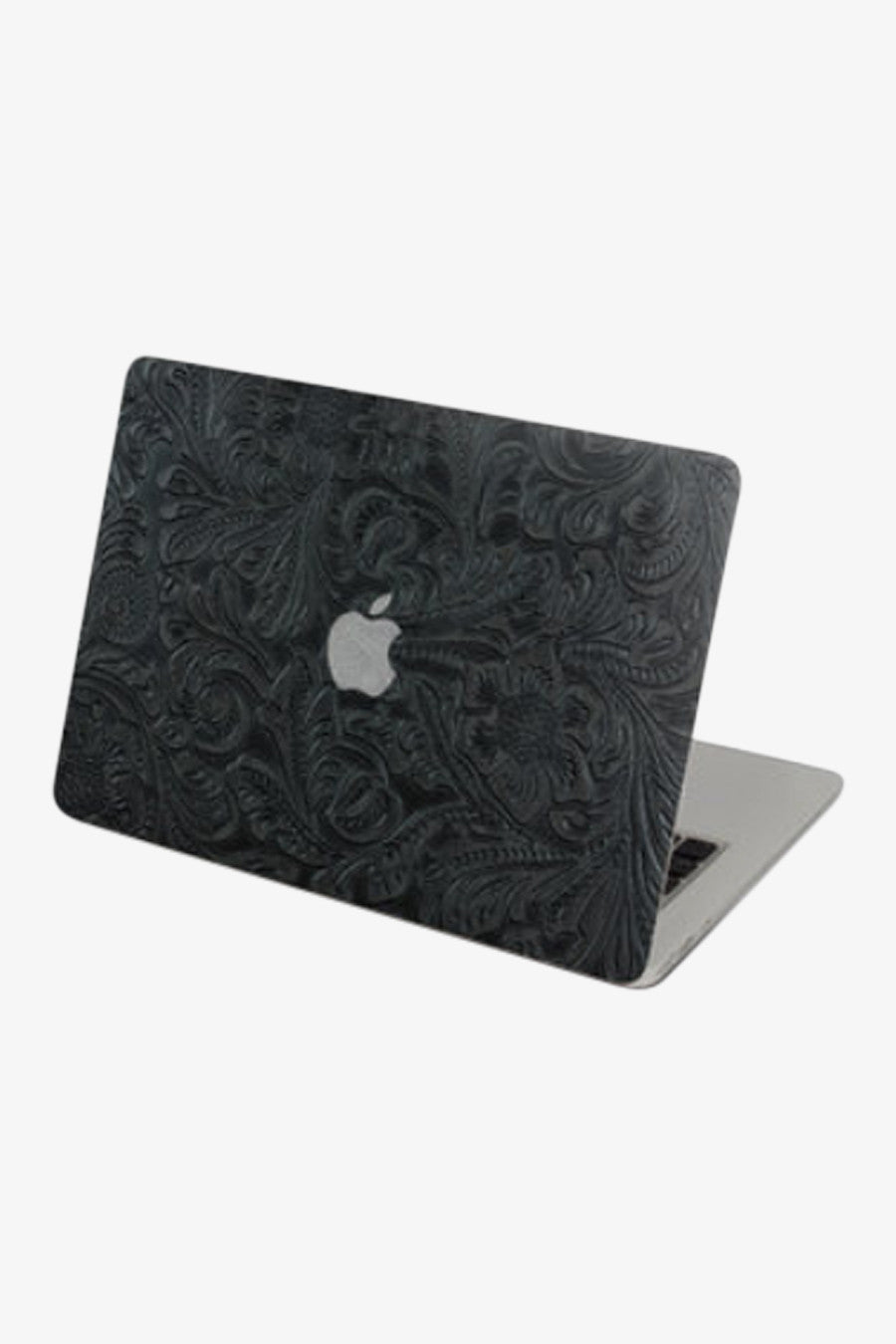 Macbook Dark Grain Leather Skin Decal Sticker. Art Decals By Moooh!!