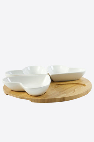 Lots of Love Snack Serving Set, 5pc