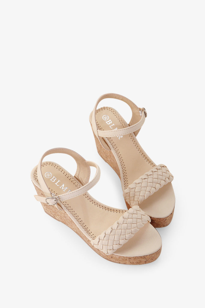 Wedges Beige Shoes