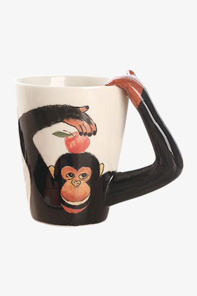 Monkey Caffe' Latte Mug