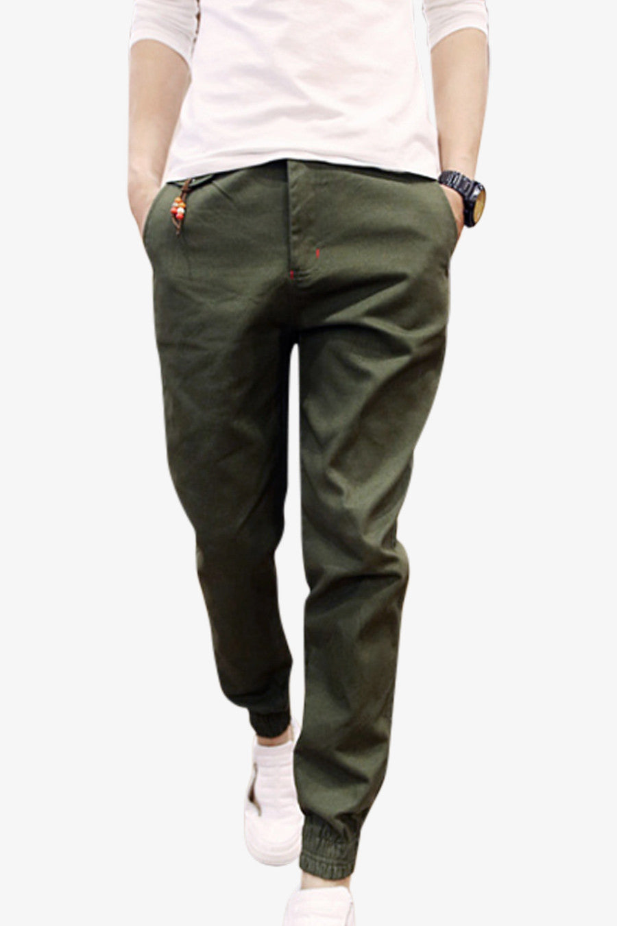Slim Pants In Green