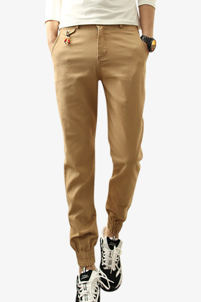 Slim Pants In Tan