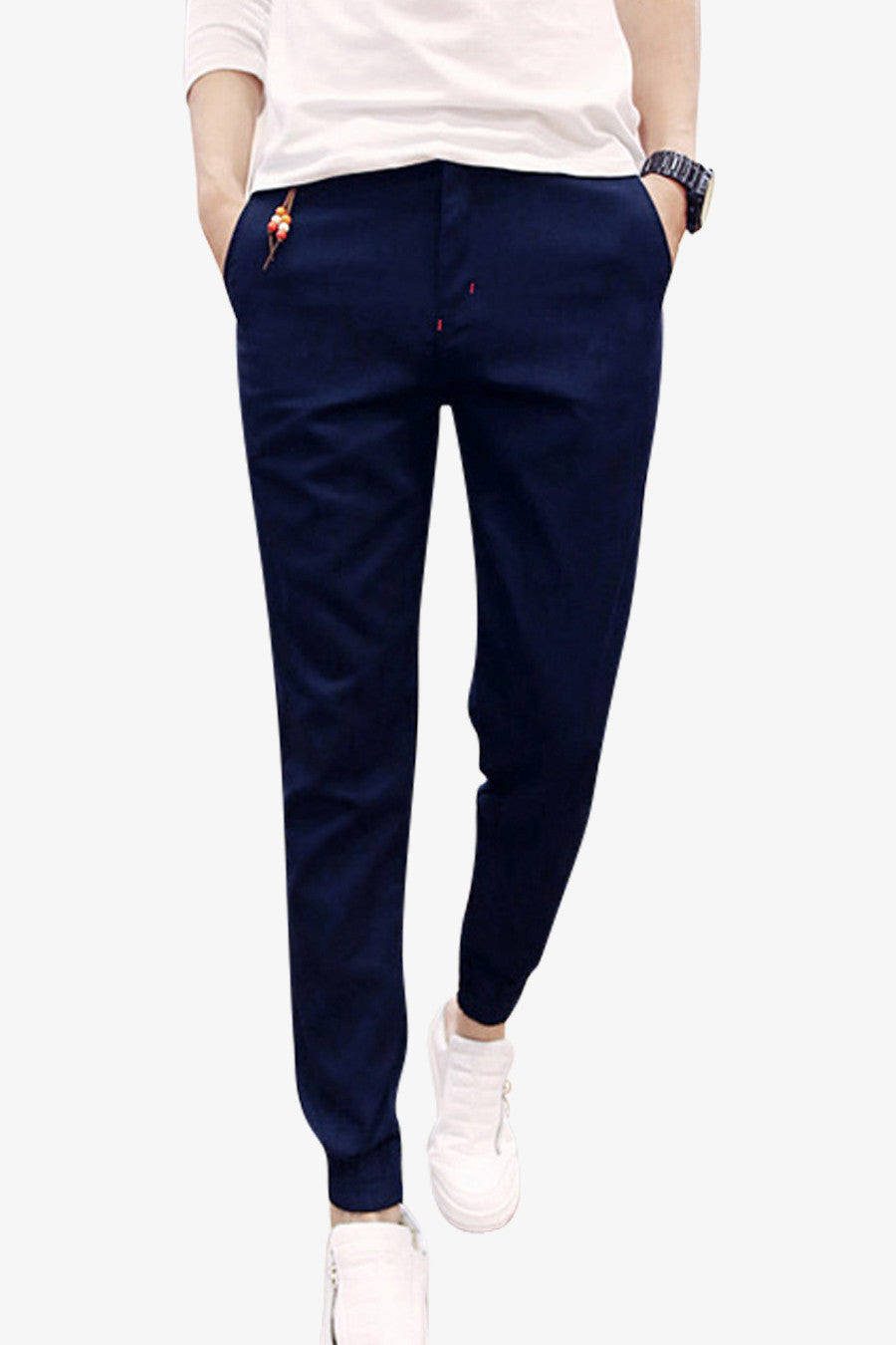 Slim Pants In Navy