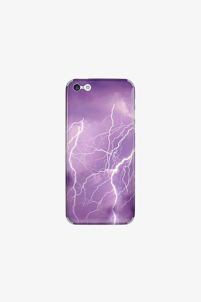 Iphone Purple Lightning Vinyl Decal Sticker. Art Decals By Moooh!!