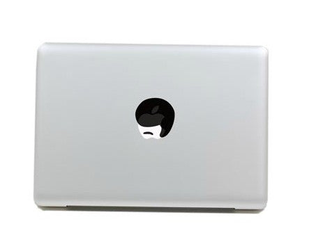 Macbook Black Hair Decal Sticker. Art Decals By Moooh!!