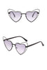 Heart Cat Eye Sunglasses