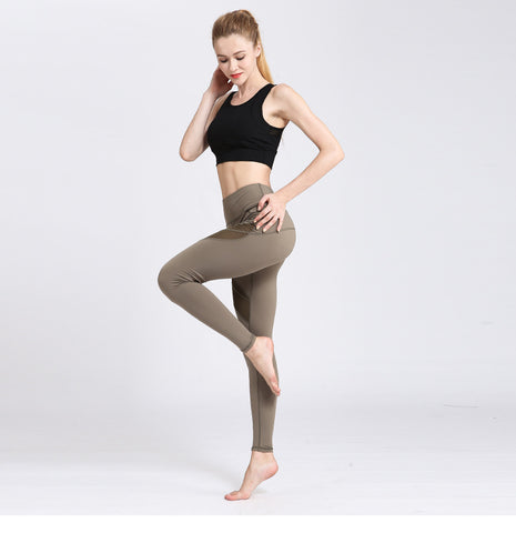 High Waist Yoga Stretch Pants