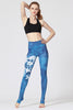 Blue Flower Leggings