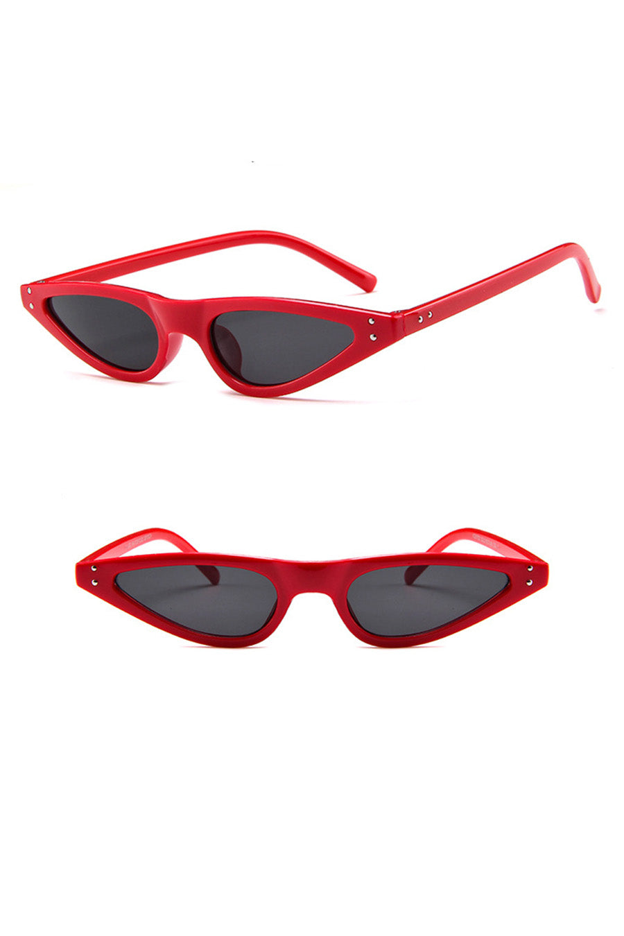 Retro Cat-Eyes Frame Sunglasses