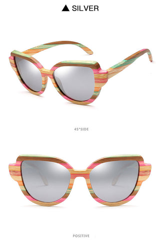 Rainbow Cat-Eye Sunglasses
