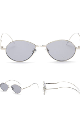 Drips Frame Retro Sunglasses