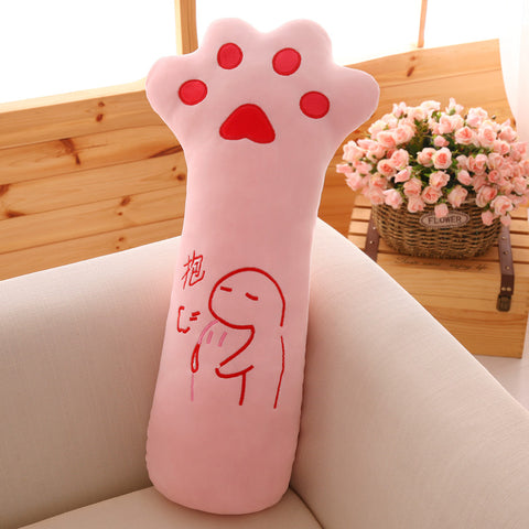 Cute Cat Paw Cushion Pillow