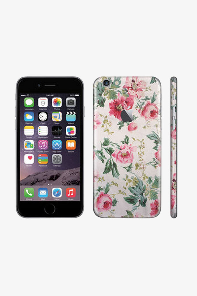 Iphone Vintage Floral Vinyl Decal Sticker. Art Decals By Moooh!!