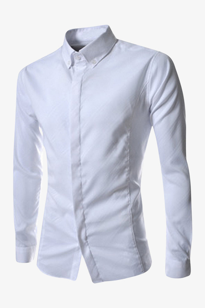 Long Sleeve Shirt In White
