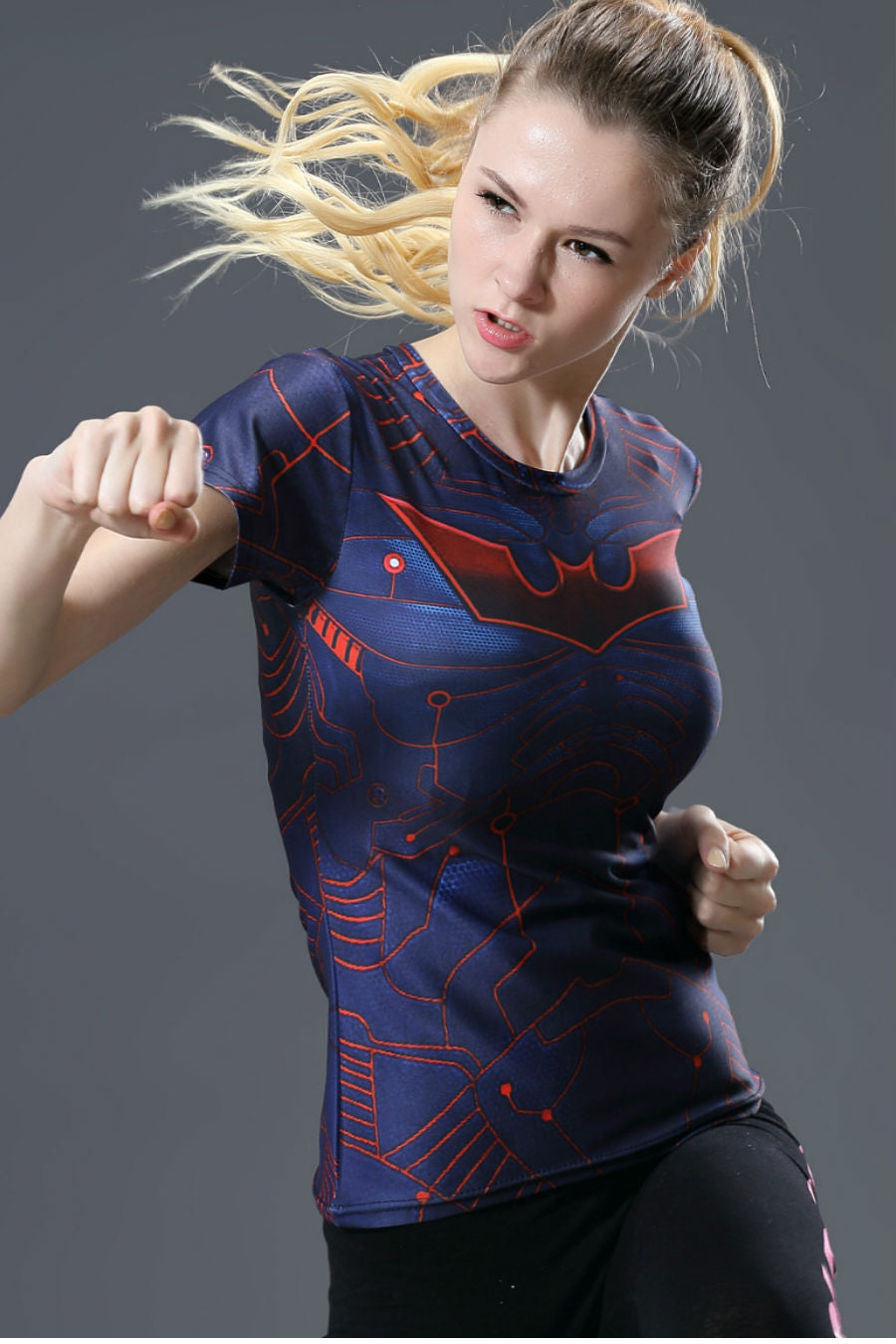 Spiderman Compression Tee