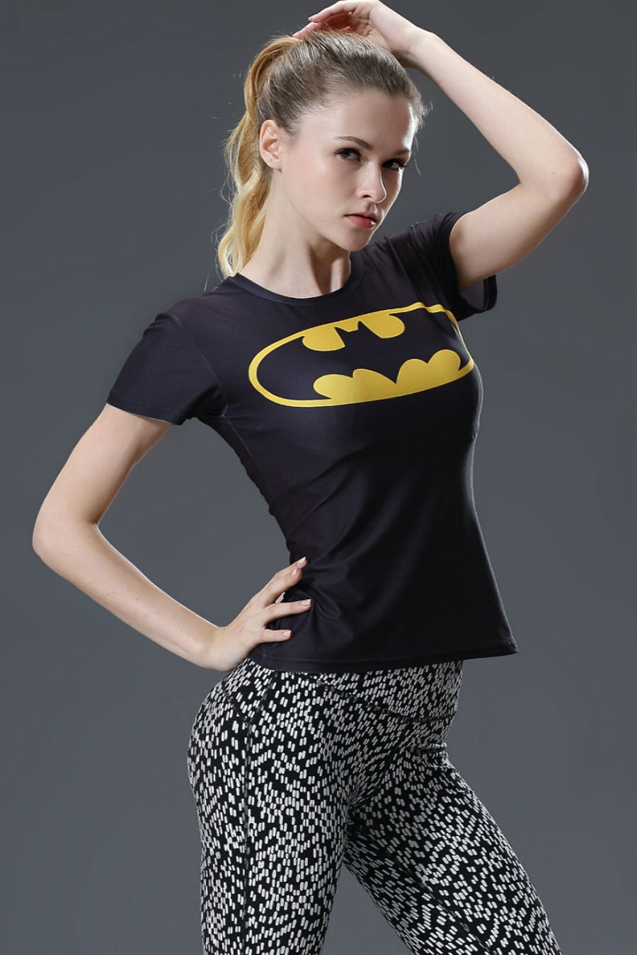 Batman Compression Women Tee
