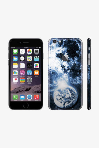 Iphone Gorgeous Earth View Vinyl Decal Sticker. Art Decals By Moooh!!