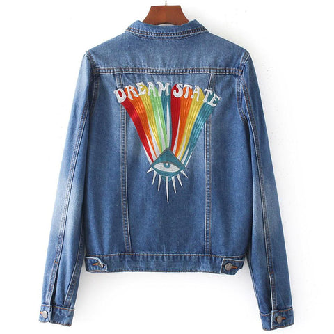 90s Dream State Denim Jacket