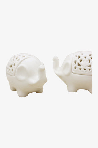 Little Elephant Ceramic Canister