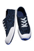 Pattern Printed Sneakers In Navy