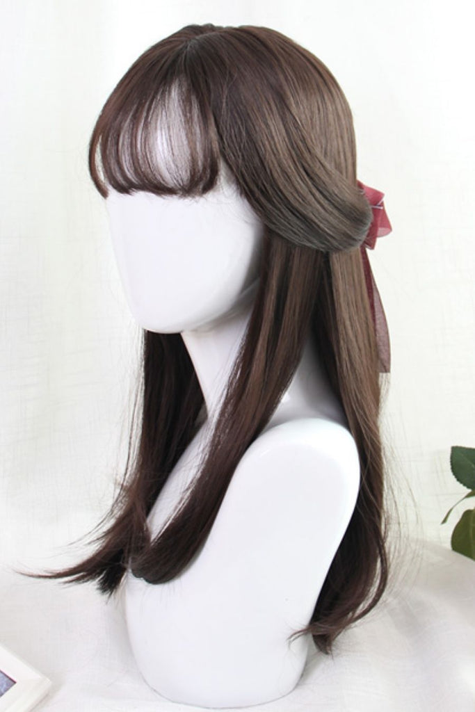 Straight Brown Cosplay Wig