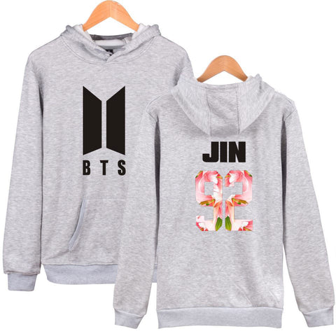 BTS K-Pop Jin Hooded Sweater