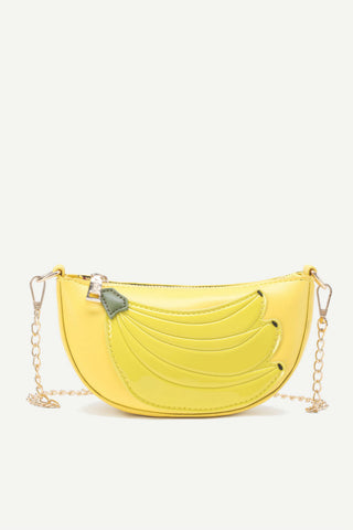 Banana Chain Crossbody Bag