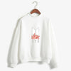 BTS K-POP CUTE FLORAL WHITE SWEATSHIRT