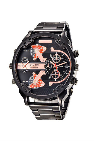Automatic Mechanical Steel Watch