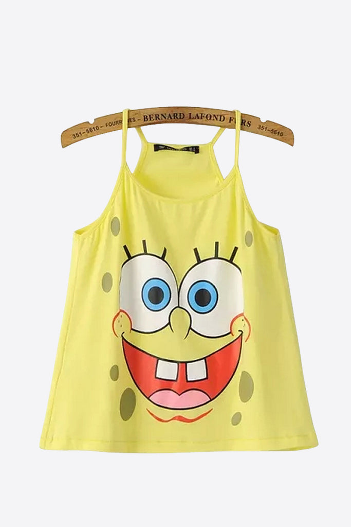 Cute Spongebob Camisole Summer Top
