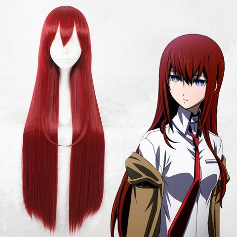 Makise Kurisu Cosplay Wig