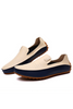 Men's Drive Casual Slip-on Loafers In Cream