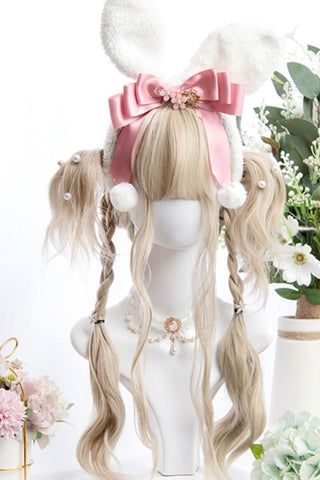 Alice Blonde Curly Cosplay Wig