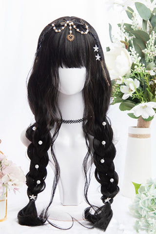 Cosplay Curly Brown Long Wig